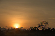 Sunset from Tufi, Cape Nelson, Oro Province, Papua New Guinea
