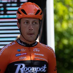 04-05-2019: Wielrennen: Ronde van Overijssel: Rijssen <br />Oscar Reisebeek