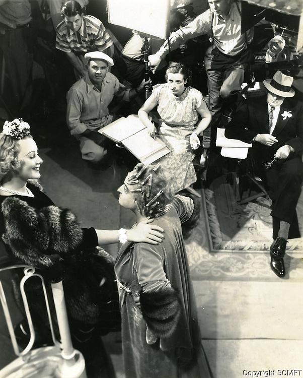 1937 Filming at Columbia Studios