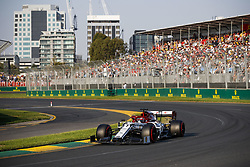 March 16, 2019 - Melbourne, Australia - Motorsports: FIA Formula One World Championship 2019, Grand Prix of Australia, ..#7 Kimi Raikkonen (FIN, Alfa Romeo Racing) (Credit Image: © Hoch Zwei via ZUMA Wire)