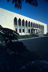 Ministry building in Riyadh, Saudi Arabia.