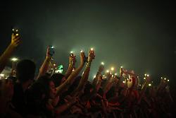 3030 durante a 25ª edição do Planeta Atlântida. O maior festival de música do Sul do Brasil ocorre nos dias 31 Janeiro e 01 de fevereiro, na SABA, praia de Atlântida, no Litoral Norte do Rio Grande do Sul. FOTO: <br /> André feltes/ Agência Preview