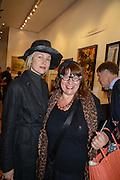 ANNA BONDAREVA; ANNA MALNI, 20/21 British Art Fair. Celebrating its 25 Anniversary. The Royal College of Art . Kensington Gore. London. 12 September 2012.
