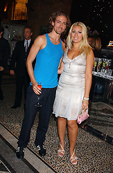 CHRISTIAN HELLAND and BEVERLEY BLOOM at the opening party for Diamonds - a new exhibition at The Natural History Museum, London in association with De Beers held on 6th July 2005.<br /><br />NON EXCLUSIVE - WORLD RIGHTS