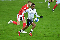 Football - 2020 / 2021 Sky Bet Championship - Swansea City vs Nottingham Forest - Liberty Stadium<br /> <br /> Jamal Lowe Swansea on the attack<br /> <br /> COLORSPORTWINSTON BYNORTH