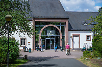 WISSMANNSDORF  - Duitsland - Clubhuis.   Golf-Resort Bitburger Land. COPYRIGHT KOEN SUYK
