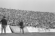 Crowds of supporters at the All Ireland Senior Hurling Final, Cork v Kilkenny in Croke Park on the 3rd September 1972. Kilkenny 3-24, Cork 5-11.