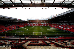 A general view of Old Trafford, home to Manchester United - Mandatory by-line: Robbie Stephenson/JMP - 25/09/2018 - FOOTBALL - Old Trafford - Manchester, England - Manchester United v Derby County - Carabao Cup