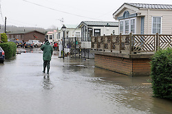 © Licensed to London News Pictures. 27/12/2013<br /> Little Venice Country Park and Marina.<br /> Yalding flood water in Kent has receded leaving locals counting the cost of the damage.<br /> Flood water starts to recede over night across Kent.<br /> Photo credit :Grant Falvey/LNP