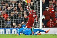 Gol Mohamed Salah 2-0 Goal celebration <br /> Liverpool 24-04-2018 Football Champions League 2017/2018 Semifinal First Leg Liverpool - AS Roma Foto Gino Mancini/Insidefoto