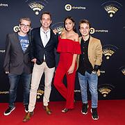 NLD/Hilversum/20170119 - Start inloop 11de Radio Gala 2016, Ralf Mackenbach met Rachel Traets en .....