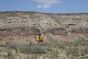 SHOT 5/20/17 1:42:10 PM - Emery County is a county located in the U.S. state of Utah. As of the 2010 census, the population of the entire county was about 11,000. Includes images of mountain biking, agriculture, geography and Goblin Valley State Park. (Photo by Marc Piscotty / © 2017)