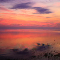 """""""A Touch of Morning""""<br /> <br /> Colorful sunrise and reflections on Lake Huron!!<br /> <br /> Sunrise Images by Rachel Cohen"""