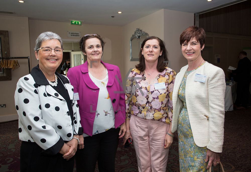 23.05.2018.       <br /> Today, the Institute of Community Health Nursing (ICHN) hosted its2018 community nurseawards in association withHome Instead Senior Care,at its annual nursing conference, in the Strand Hotel Limerick, rewarding public health nurses for their dedication to community care across the country. <br /> <br /> Pictured at the event were, Virginia Pye, Sinead Hannifin, JoanDowney and Catherine Whitty. Picture: Alan Place