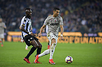 Cristiano Ronaldo e Seko Fofana<br /> Udine 06-10-2018 Stadio Friuli Football Calcio Serie A 2018/2019 Udinese - Juventus<br /> Foto Federico Tardito / OnePlusNine / Insidefoto