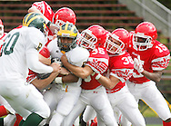Thiellsl, NY - Ramapo plays North Rockland in a high school football  game on Sept. 26, 2009.