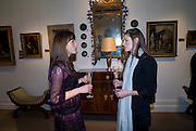 ERIN RUFFIN; REBECCA HUGHES, Preview party for the Versace Sale.  The contents of fashion designer Gianni Versace's villa on Lake Como. Sothebys. Old Bond St. London. 16 March 2009.  *** Local Caption *** -DO NOT ARCHIVE -Copyright Photograph by Dafydd Jones. 248 Clapham Rd. London SW9 0PZ. Tel 0207 820 0771. www.dafjones.com<br /> ERIN RUFFIN; REBECCA HUGHES, Preview party for the Versace Sale.  The contents of fashion designer Gianni Versace's villa on Lake Como. Sothebys. Old Bond St. London. 16 March 2009.