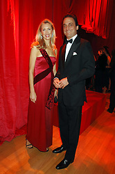 COUNT & COUNTESS ALLESANDRO GUERRINI-MARALDI at a dinner held at the Natural History Museum to celebrate the re-opening of their store at 175-177 New Bond Street, London on 17th October 2007.<br /><br />NON EXCLUSIVE - WORLD RIGHTS