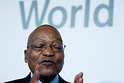Jacob G. Zuma, President of the Republic of South Africa<br /> Presidency of South Africa in Durban, South Africa. Copyright by Greg Beadle