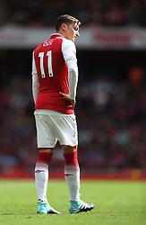 09 September 2017 London : Premier League Football : Arsenal v Bournemouth : the despondent figure of Mesut Ozil of Arsenal.<br /> Photo: Mark Leech