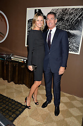 TIM & MALIN JEFFERIES at the PAD London 2015 VIP evening held in the PAD Pavilion, Berkeley Square, London on 12th October 2015.