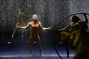 Cirque du Soleil cast members perform on opening night of LUZIA at Marymoor Park, Thursday, March 31, 2017.