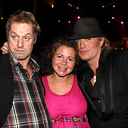 NLD/Hilversum/20081102 - Premiere Dinnershow of Dreams, Tony Neef, zwangere Maaike Widdershoven en Hans Klok