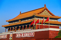 Tiananmen Gate (Gate of Heavenly Peace), Beijing, China