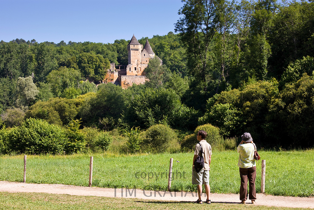 Historic chateau near Les Eyzies, Dordogne, France