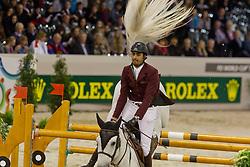 Al Thani Ali bin Khaled (QAT) - Cantaro 32<br /> Rolex FEI World Cup ™ Jumping Final <br /> 'S Hertogenbosch 2012<br /> © Dirk Caremans
