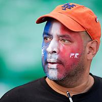 8 March 2009: Fan Carlos Maldonado of San Juan is seen during the 2009 World Baseball Classic Pool D match at Hiram Bithorn Stadium in San Juan, Puerto Rico. Dominican Republic wins 9-0 over Panama.