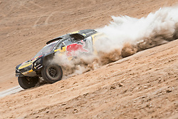 Sebastien Loeb (FRA) of PH Sport races during stage 04 of Rally Dakar 2019 from Arequipa to o Tacna, Peru on January 10, 2019 // Marcelo Maragni/Red Bull Content Pool // AP-1Y39E7GYN1W11 // Usage for editorial use only // Please go to www.redbullcontentpool.com for further information. //