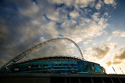 General View outside Wembley Stadium - Photo mandatory by-line: Rogan Thomson/JMP - 07966 386802 - 27/03/2015 - SPORT - FOOTBALL - London, England - Wembley Stadium - England v Lithuania UEFA Euro 2016 Qualifier.