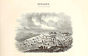The Village of Bethany [West Bank, Palestine] Wood Engravings from the book 'Palestine, past and present' with Biblical, Literary and Scientific Notices by Rev. Osborn, H. S. (Henry Stafford), 1823-1894 Published in Philadelphia, by J. Challen & son; in 1859