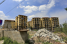 China - Empty Buildings In Moudao Town - 14 Sep 2016