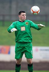 Jamie Barclay, Berwick Rangers..Berwick Rangers 0 v 1 Annan Athletic, 1/10/2011..Pic © Michael Schofield.