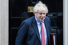 2020-01-29 Prime Minister Boris Johnson leaves for PMQs