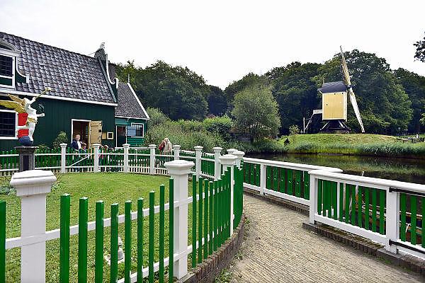 Nederland, Arnhem, 21-8-2014Nederlands Openluchtmuseum. De Zaanse Schans, oud Hollandse bouwkunst. Foto: Flip Franssen/Hollandse Hoogte