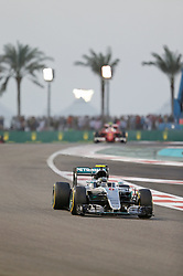 Weltmeister 2016 Nico Rosberg (GER#6), Mercedes AMG Petronas Formula One Team beim Rennen im Rahmen des Grand Prix von Abu Dhabi auf dem Yas Marina Circuit / 271116<br /> <br /> ***Abu Dhabi Formula One Grand Prix on November 27th, 2016 in Abu Dhabi, United Arab Emirates - Race Day ***