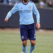 NEW YORK, NEW YORK - March 18:  Andrea Pirlo #21 of New York City FC in action during the New York City FC Vs Montreal Impact regular season MLS game at Yankee Stadium on March 18, 2017 in New York City. (Photo by Tim Clayton/Corbis via Getty Images)
