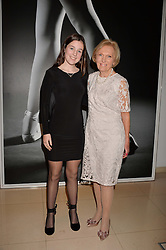 Mary Berry and her granddaughter Grace Hunnings at the Giselle Premier VIP Party, St.Martin's Lane Hotel, London England. 11 January 2017.