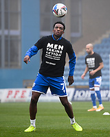 Football - 2020 / 2021 Emirates FA Cup - Round 2 - Gillingham vs Exeter City - Priestfield Stadium<br /> <br /> Gillingham's Matty Willock during the pre-match warm-up.<br /> <br /> COLORSPORT/ASHLEY WESTERN