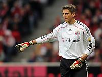 Fotball<br /> Tyskland<br /> 28.02.2010<br /> Foto: Witters/Digitalsport<br /> NORWAY ONLY<br /> <br /> Torwart Hans-Joerg Butt FCB<br /> <br /> Bundesliga Bayern München - Hamburger SV 1:0