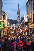 **NO REPRO FEE** Crowds enjoying the Fleadh in Ennis on Monday. Photograph by Eamon Ward