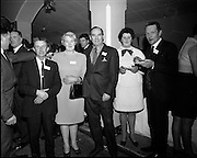 20/04/1970<br /> 04/20/1970<br /> 20 April 1970<br /> Tynagh Mines Dinner Dance at Loughrea, Co. Galway. Tom Ganley, Tynagh; Mrs Ganley; Mr. P.J. Hughes; Mrs M. Winters and Mr. M. Winters, Stores.