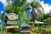 Banana Joe's Fruit Stand, North Shore, Island of Kauai, Hawaii