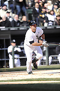 CHICAGO - APRIL 01:  Paul Konerko #14 of the Chicago White Sox bats against the Kansas City Royals on April 1, 2013 at U.S. Cellular Field in Chicago, Illinois.  The White Sox defeated the Royals 1-0.  (Photo by Ron Vesely)   Subject: Paul Konerko