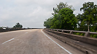 Bayou Des Allemands US-90 highway bridge at  the town of Des Allemands, Louisiana USA
