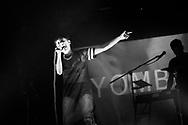 YOMBE live at Lanificio 25. Naples, Italy. 2016.