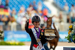 DUJARDIN Charlotte (GBR)<br /> Tryon - FEI World Equestrian Games™ 2018<br /> Grand Prix Special Einzelentscheidung<br /> 14. September 2018<br /> © www.sportfotos-lafrentz.de/Stefan Lafrentz